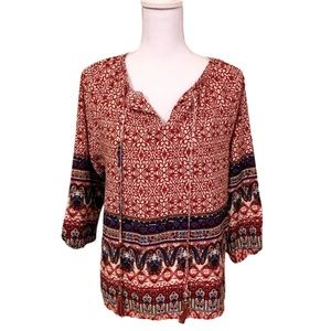 CLEAROUT SALE!  Bedford Pattern Blouse